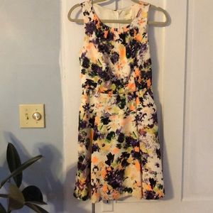 Multicolor floral dress